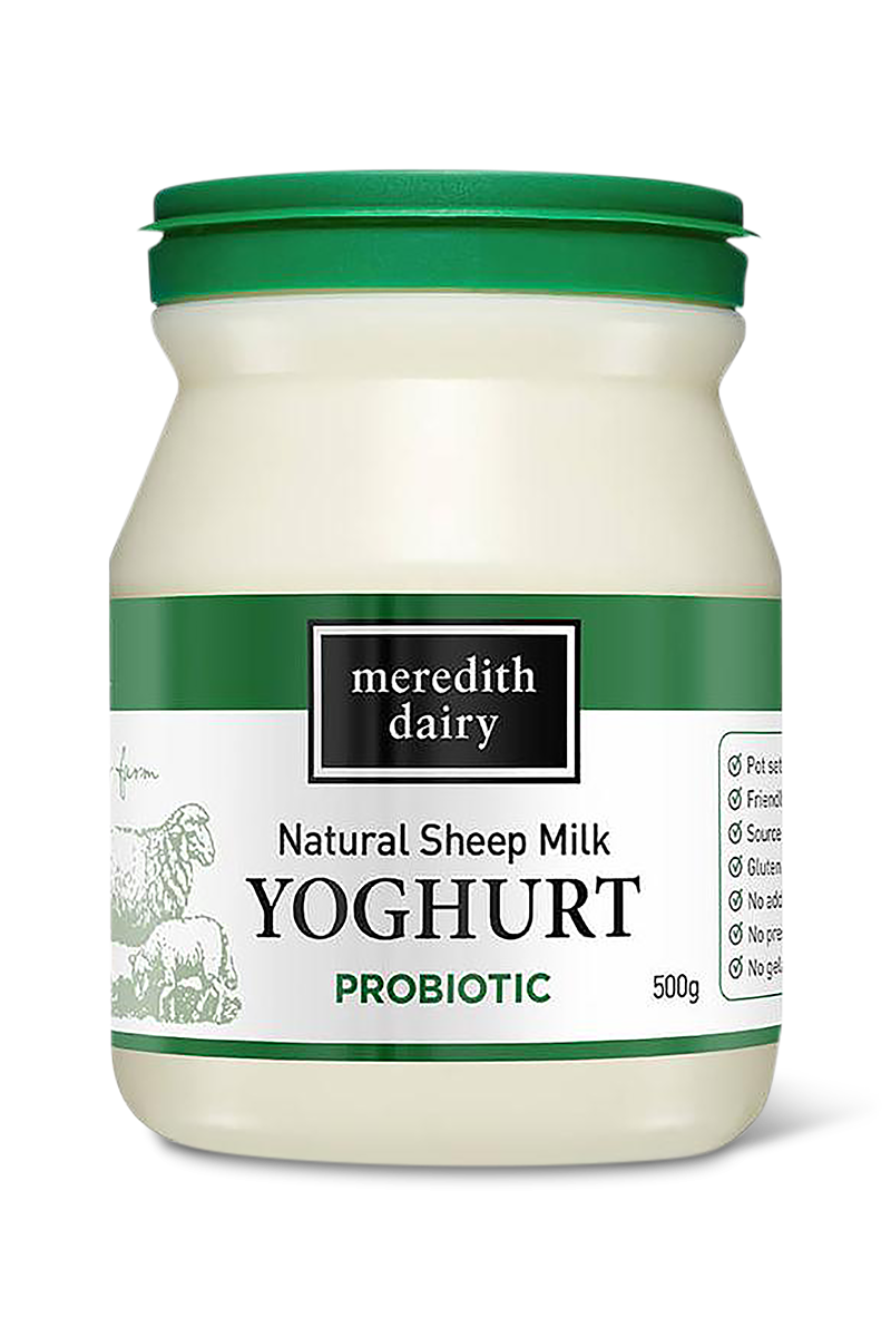 Natural Sheep Milk Yoghurt Probiotic by Meredith Dairy