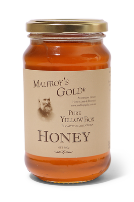 Pure Yellow Box Honey by Malfroy's Gold