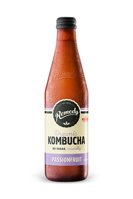 Kombucha Passionfruit by Remedy
