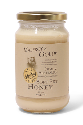 Soft set honey by Malfroy's Gold