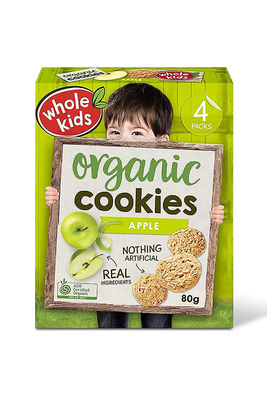 Apple cookies by Whole Kids