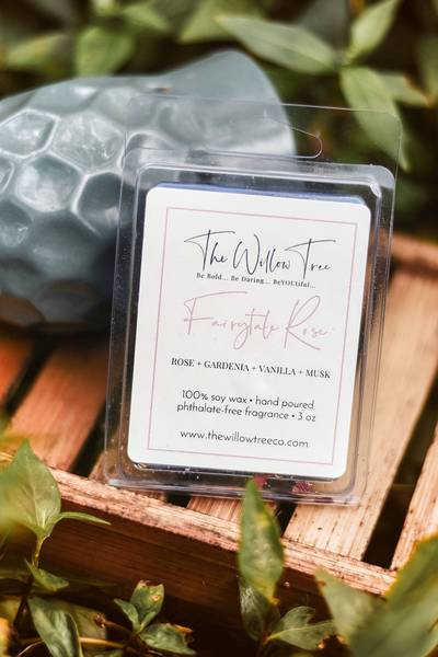 Fairytale Rose Wax Melts - Skin Care - The Willow Tree Co