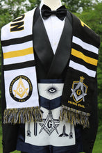 Load image into Gallery viewer, PRINCE HALL MASTER MASON SCARF