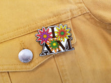 "Load image into Gallery viewer, ""I AM"" in Bloom © Lapel Pin"