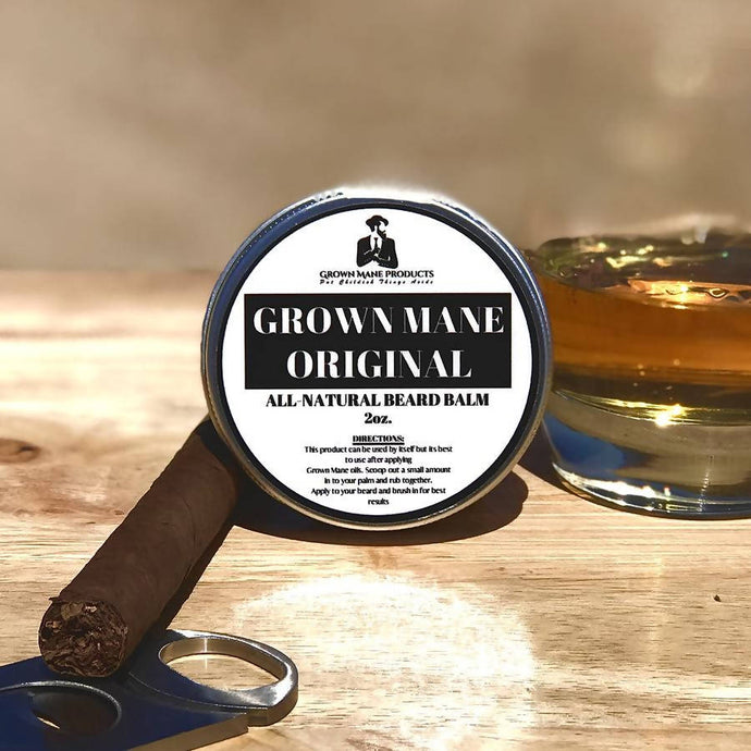 Grown Mane Products: Original Beard Balm