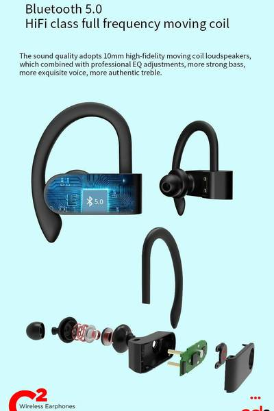 C² Wireless Earphones - Wireless Earphones - CD3 Innovations