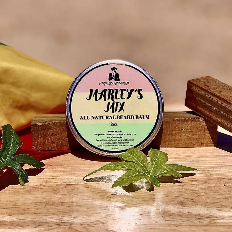 "Grown Mane Products: ""Marley's Mix"" Beard Balm"