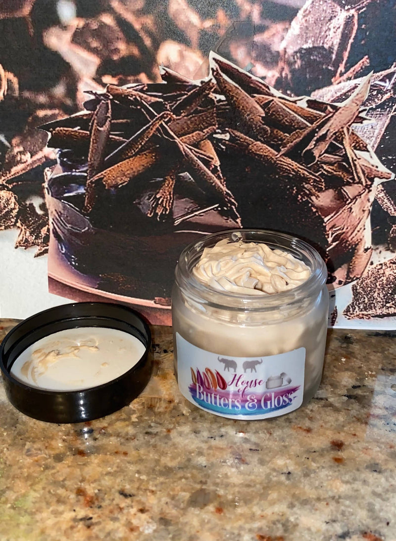 Chocolate Caramel Scented Body Shea Butter