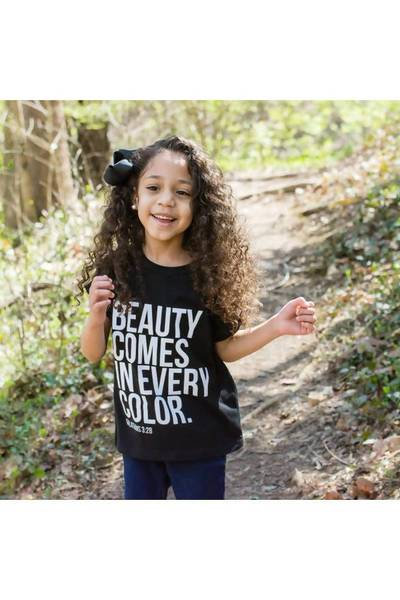 Beauty Comes in Every Color - Youth Tee - Youth Tee - Khi & Mommy Fashion Boutique