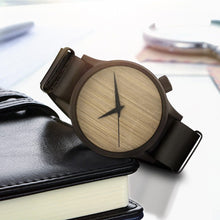 Load image into Gallery viewer, Casual Bamboo Watch Analog Wristwatch Fashion Wooden Watch Business