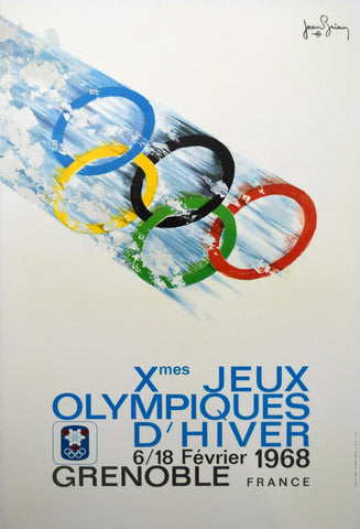 1968 Winter Olympics Grenoble