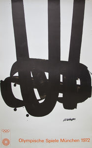 1972 Munich - Pierre Soulages