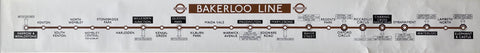 Bakerloo Line Carriage Map
