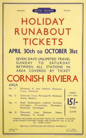 British Railways Cornwall