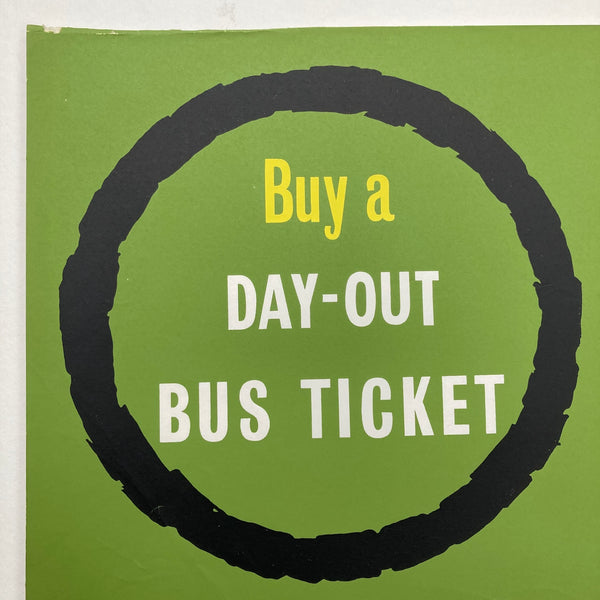 Day-Out Bus Ticket Poster