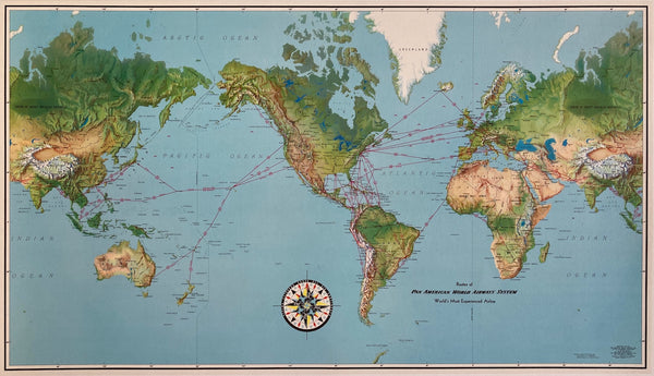 Pan Am Map