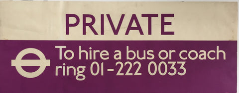 Private Bus Blind