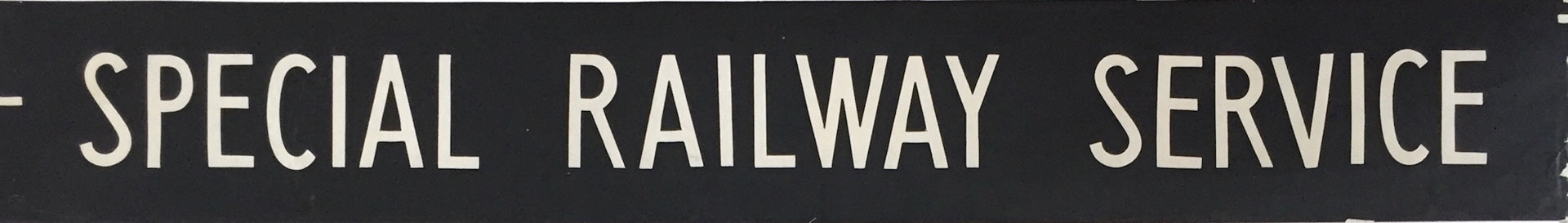 Special Railway Service Bus Blind