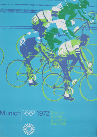 1972  Munich - Cycling