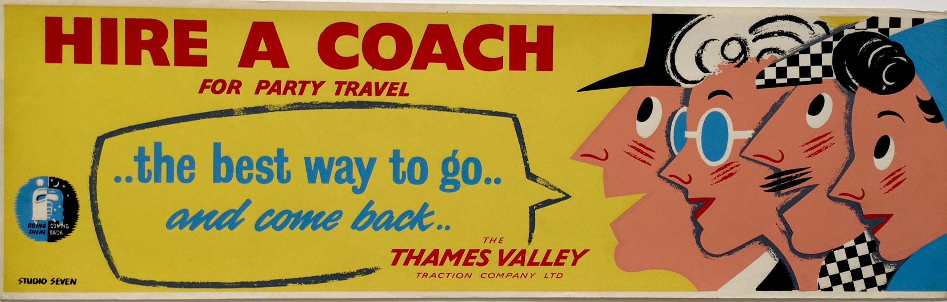Thames Valley Coach Poster
