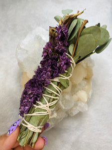 Floral Beauty Wand - Eucalyptus Chrysanthemum Lily