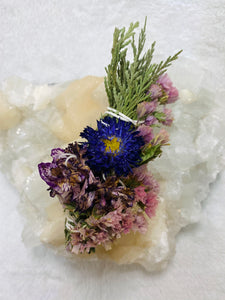 Floral Beauty Wand - Cedar Carnation Matsumoto Aster Statice
