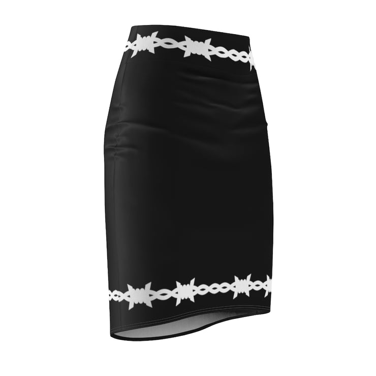 barbed baby pencil skirt