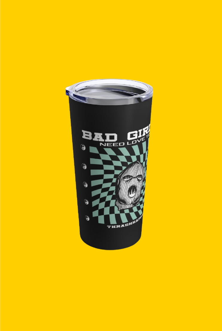 bad girls 20oz tumbler