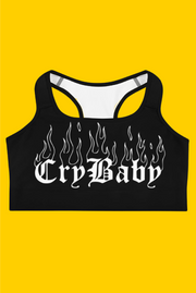 crybaby sports bra