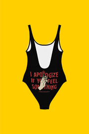 feel something one piece swimsuit