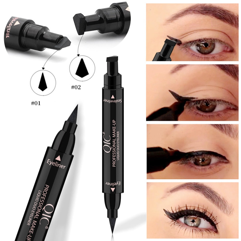 1PC Double-Headed Seal Black Eyeliner