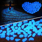 Garden Decor Luminous Stones Glow In Dark Decorative Pebbles