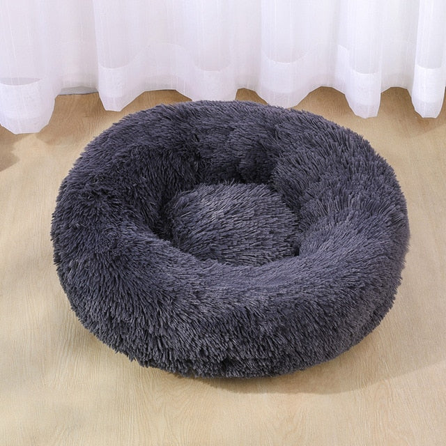 Dog Long Plush Dounts Beds