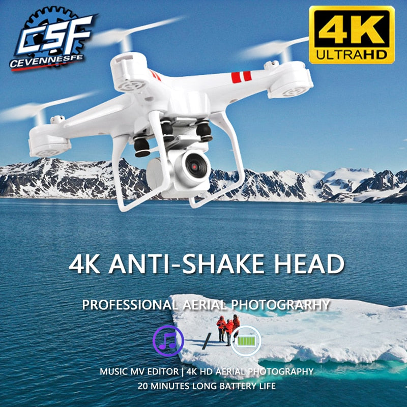 4k camera HD Wifi Transmission Fpv Drone