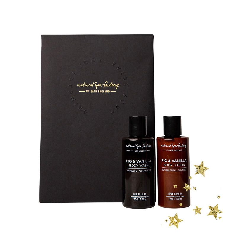 Fig & Vanilla Mini Body Duo Gift Set 100ml