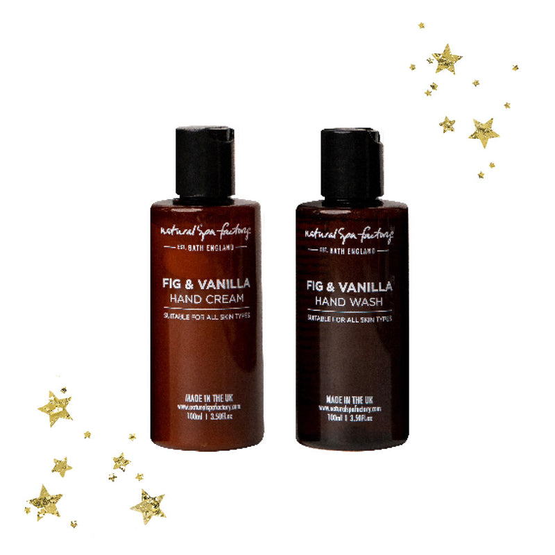 Fig & Vanilla Mini Hand Duo Gift Set 100ml