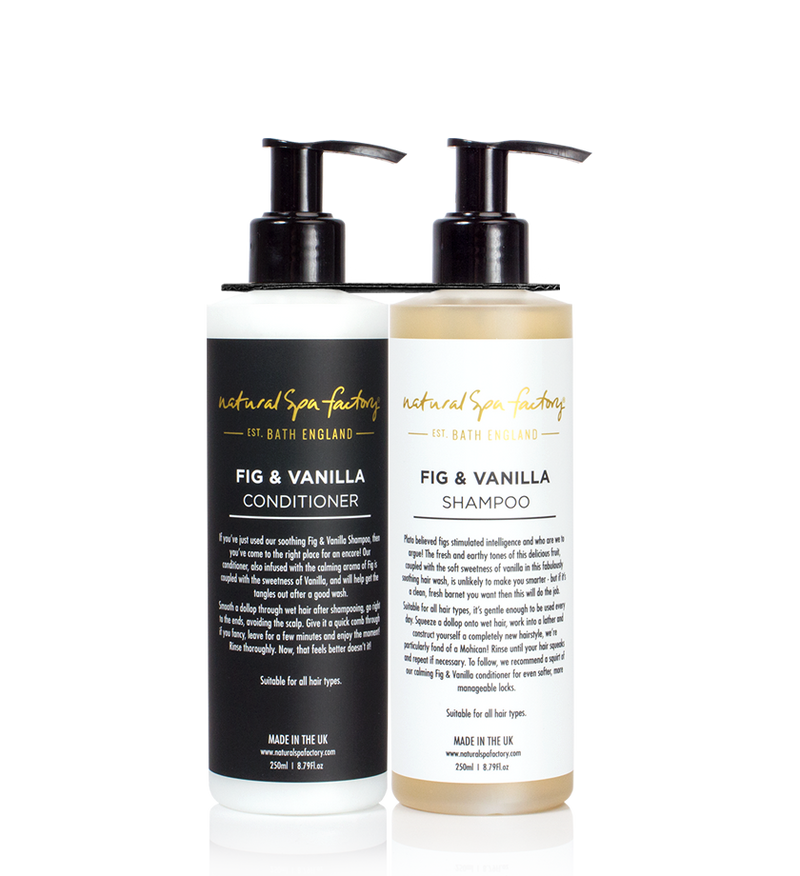 DOUBLE UP FIG & VANILLA SHAMPOO & CONDITIONER (250ML)