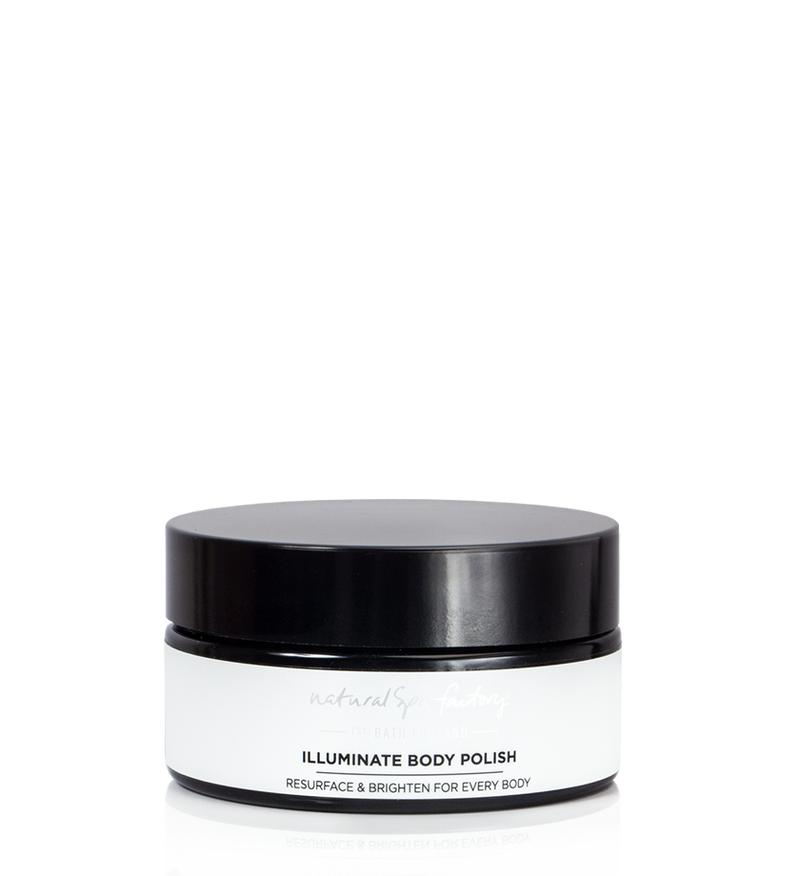 ILLUMINATE BODY POLISH - TO RESURFACE & BRIGHTEN DULL SKIN (200G) - VEGAN FRIENDLY
