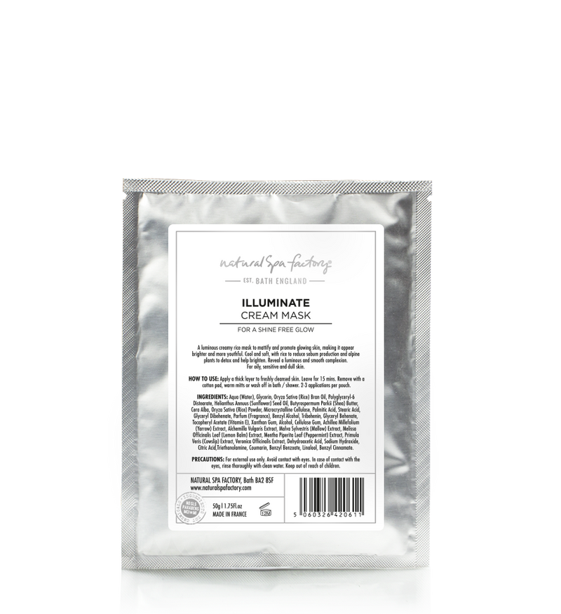 ILLUMINATE CREAM MASK - FOR A NATURAL GLOW (50G) SET OF 2