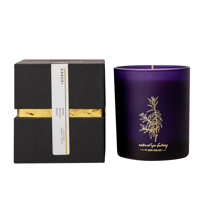Boxed Clove, Freesia, Sweet Vanilla & Amber Candle (220g)