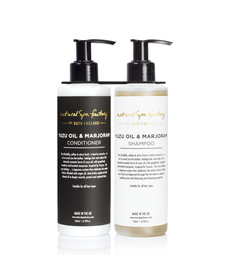 DOUBLE UP YUZU OIL & MARJORAM SHAMPOO & CONDITIONER LOTION (250ML)
