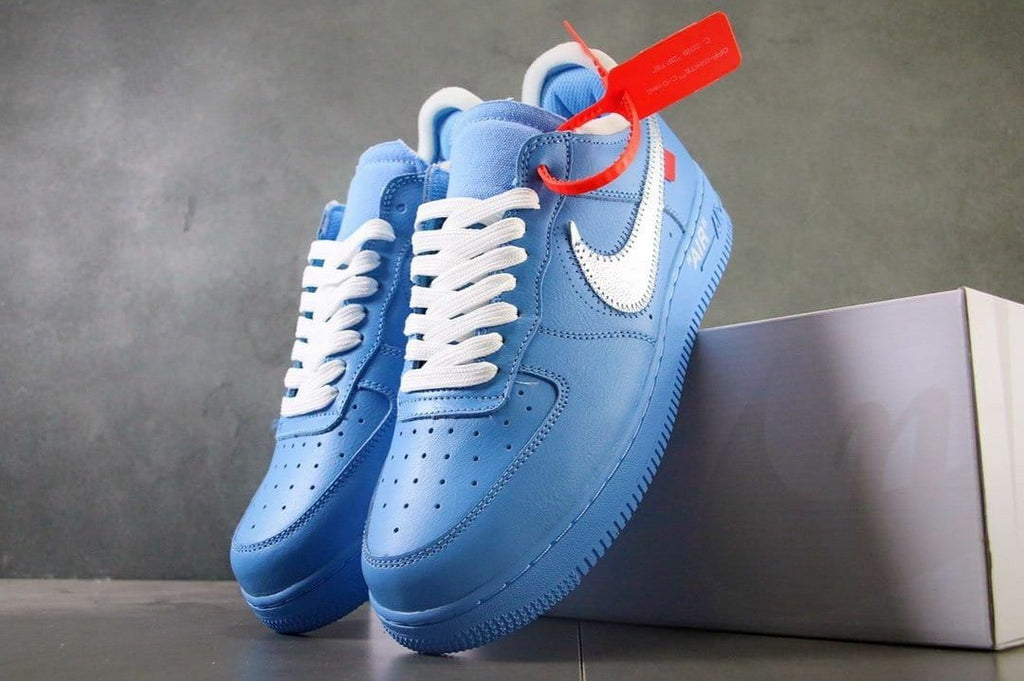 Nike Air Force 1 Low Off White Mca University Blue