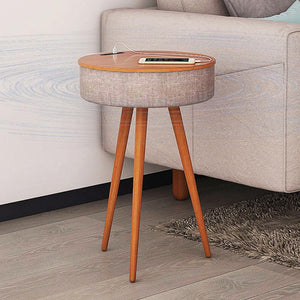 Ava Nordic: Smart Table w/ Wireless Charging and Bluetooth Speaker