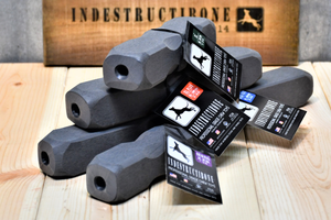 INDESTRUCTIBONE KENNEL PACK - PROFESSIONAL GRADE CHEW TOYS - 4 DIFFERENT SIZES - Bulletproof Pet Products Inc