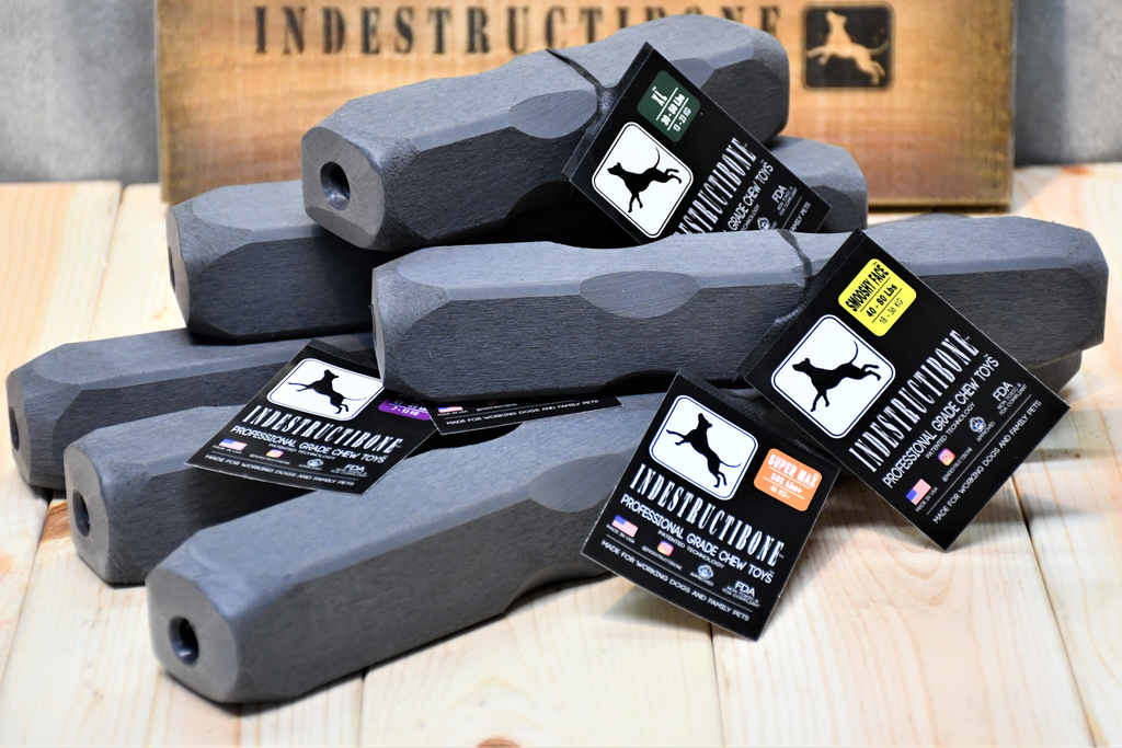 Indestructibone Super Ultimate Kennel Pack - Professional Grade Chew Toys - 6 sizes. - Bulletproof Pet Products Inc