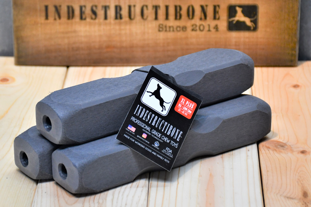 Indestructibone Professional Grade XL Plus 3 PACK- Dogs 51 -100 lbs. - Bulletproof Pet Products Inc
