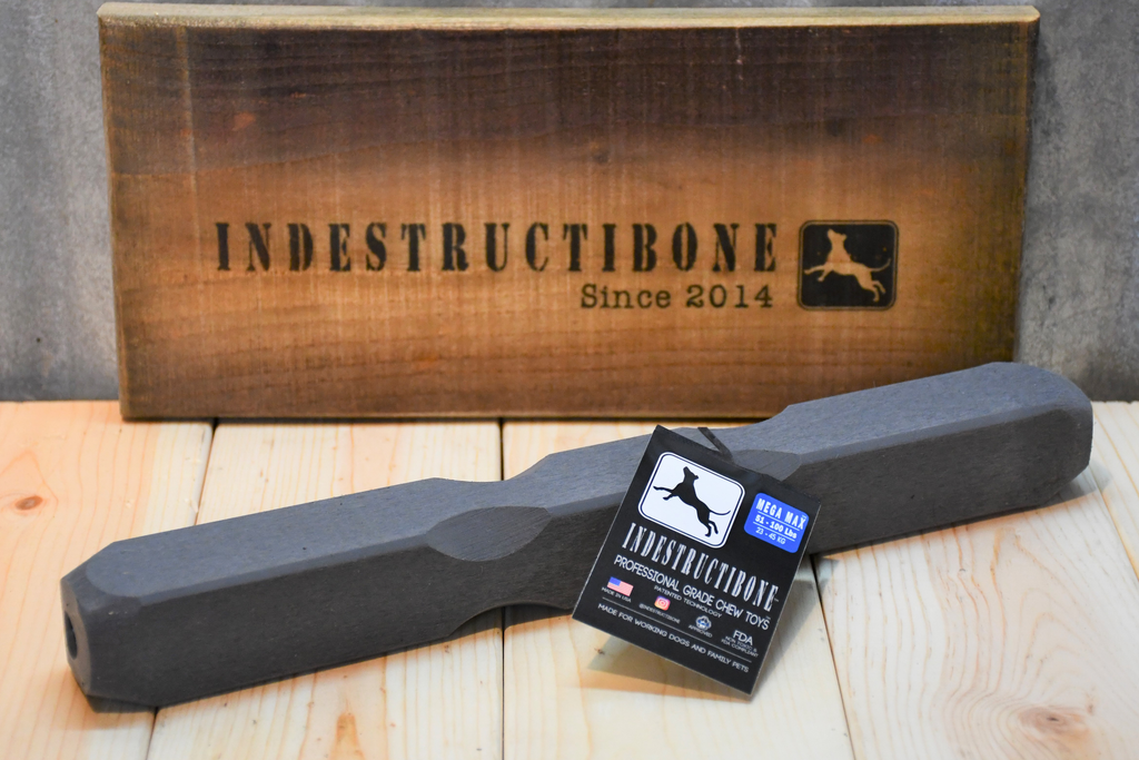 "Indestructibone Professional Grade ™Mega Max 12"" - Dogs 51-100 lbs - Bulletproof Pet Products Inc"