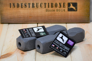 Indestructibone™ Professional Grade -1 ORIGINAL AND 1 XL COMBO PACK - Bulletproof Pet Products Inc