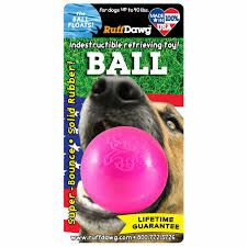 BALL - DOGS UP TO 40 LBS - BY RUFF DAWG - Bulletproof Pet Products Inc