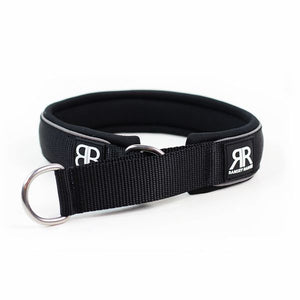 MARTINGALE RAMSEY RANGE 4CM COLLARS - BLACK - BY BULLY BILLOWS - Bulletproof Pet Products Inc
